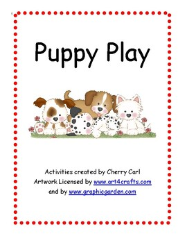 Puppy Play Activity Packet